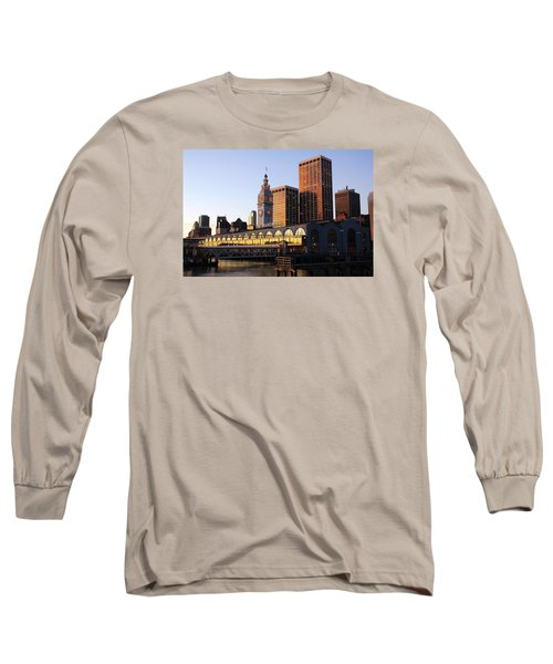 Ferry Building And San Francisco Long Sleeve T-Shirt