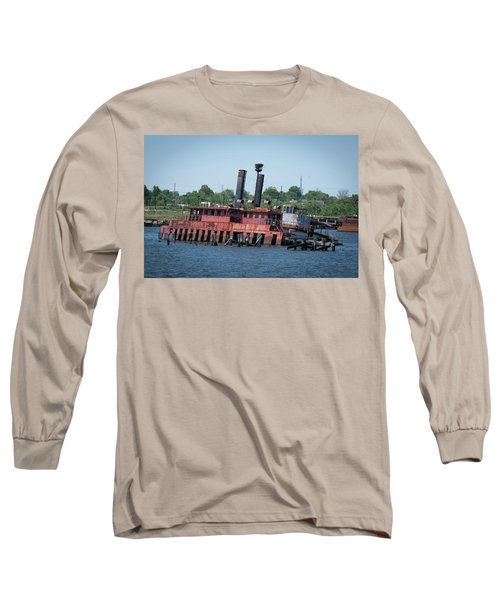 Ferry From Long Time Ago Long Sleeve T-Shirt