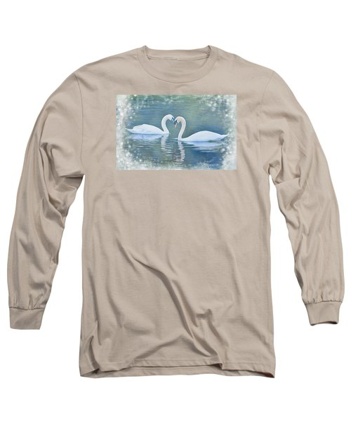 Festive Swan Love Long Sleeve T-Shirt