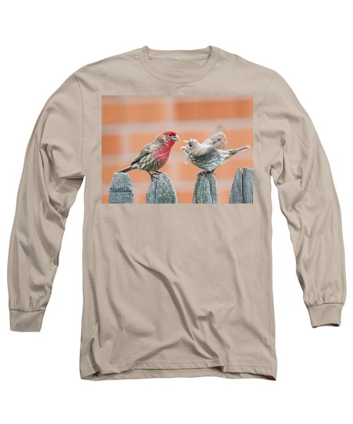 Feuding Finches Long Sleeve T-Shirt