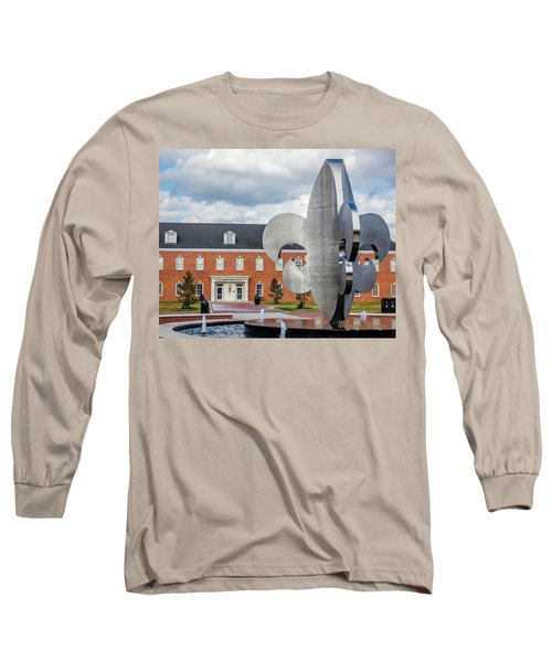 Long Sleeve T-Shirt featuring the photograph Fg Mouton Hall 02 by Gregory Daley  PPSA