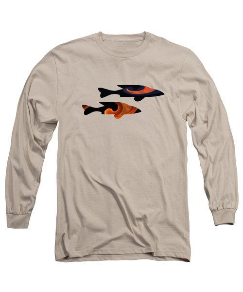 Fiery Duo Long Sleeve T-Shirt