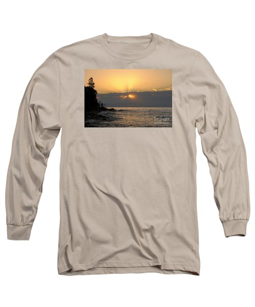 Long Sleeve T-Shirt featuring the photograph Fiery Eyes by Sandra Updyke