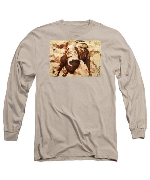 Fight Bull Long Sleeve T-Shirt