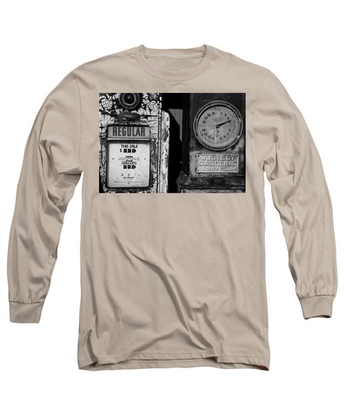 Fill Er Up Long Sleeve T-Shirt by Michael Nowotny