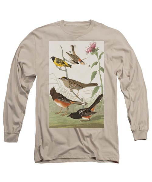 Finches Long Sleeve T-Shirt