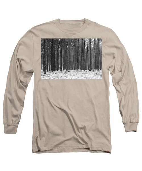 Long Sleeve T-Shirt featuring the photograph Ways In A Dark Woods by Dubi Roman