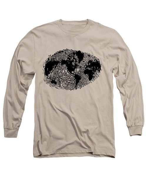 fingerprint 20X30 Long Sleeve T-Shirt