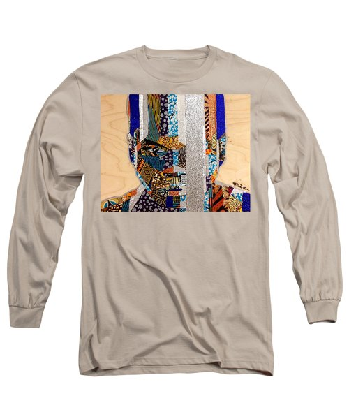 Finn Star Wars Awakens Afrofuturist  Long Sleeve T-Shirt by Apanaki Temitayo M