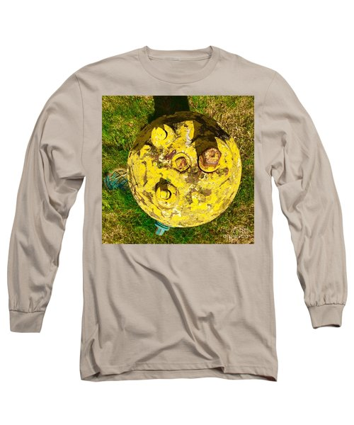 Fire Hydrant #1 Long Sleeve T-Shirt by Suzanne Lorenz
