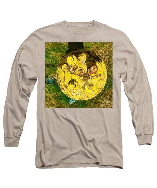 Fire Hydrant #1 Long Sleeve T-Shirt