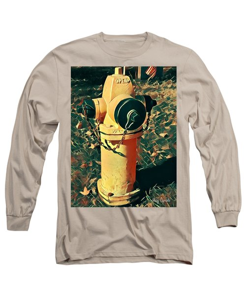 Fire Hydrant Long Sleeve T-Shirt
