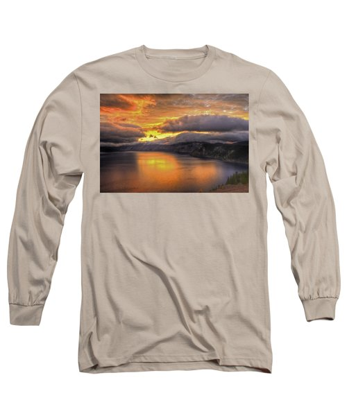 Fire In The Lake #1 Long Sleeve T-Shirt