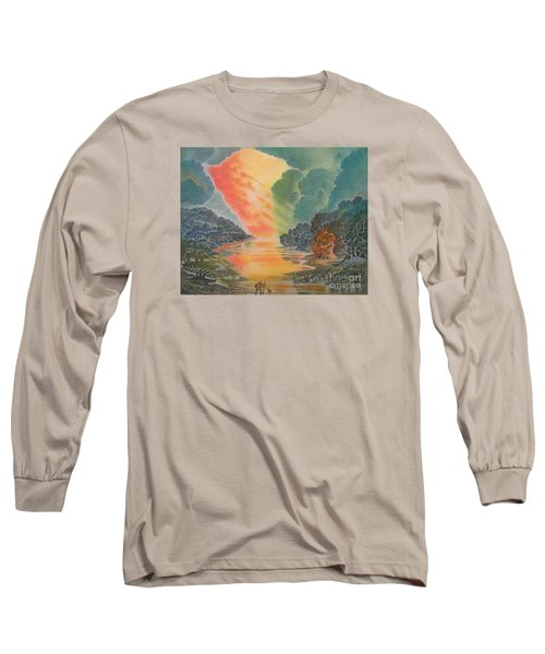 Fire In The Sky 2 Long Sleeve T-Shirt