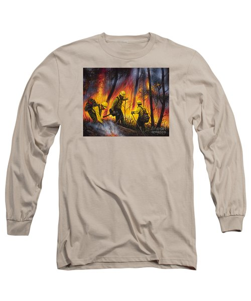 Fire Line 2 Long Sleeve T-Shirt