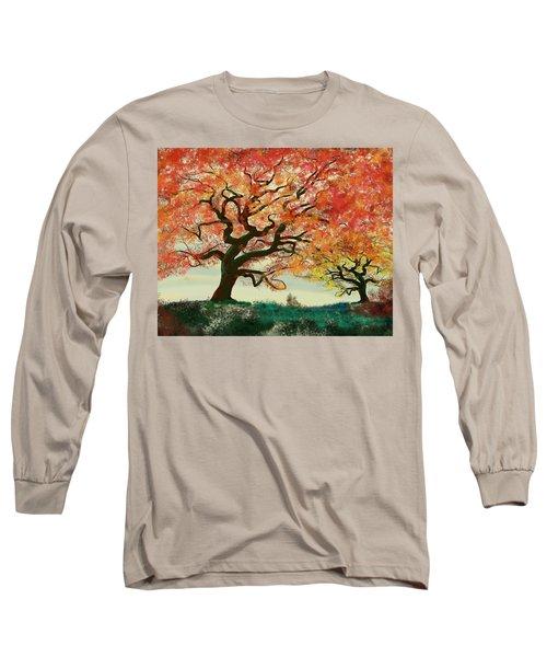 Fire Tree Long Sleeve T-Shirt