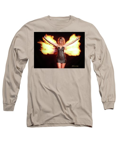 Fire Wings Long Sleeve T-Shirt