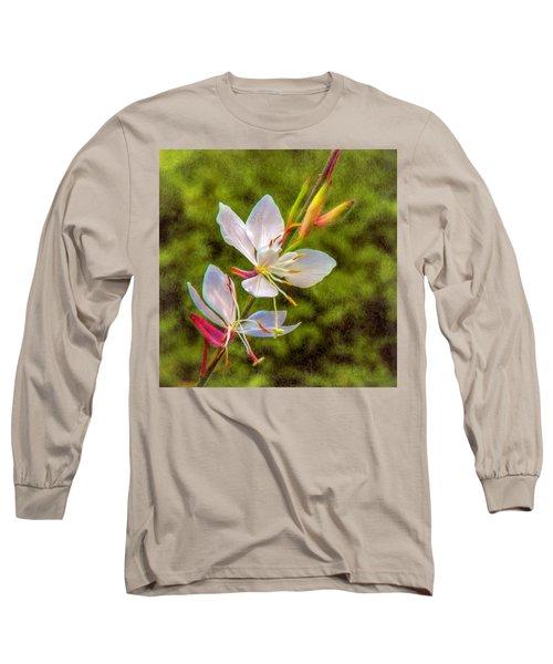 Firecracker Flower Long Sleeve T-Shirt