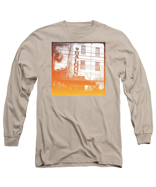 First Bar In Texas For A Woman Long Sleeve T-Shirt