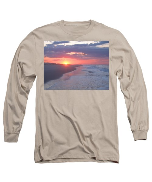 Long Sleeve T-Shirt featuring the photograph First Daylight by Newwwman