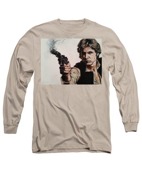 First Shot - Han Solo Long Sleeve T-Shirt