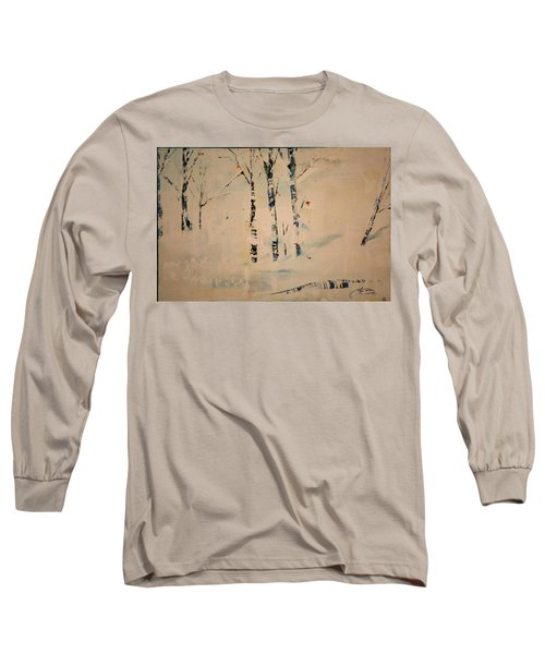 First Snow Central Park Long Sleeve T-Shirt