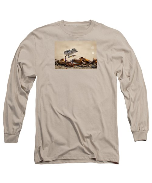 First Steps Long Sleeve T-Shirt by Alice Cahill