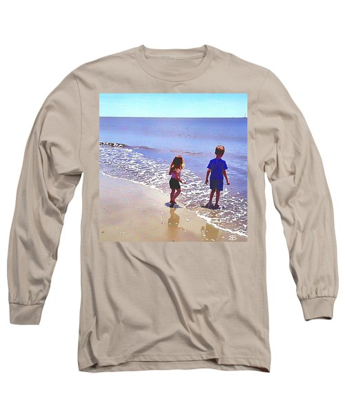 First Time At The Beach Long Sleeve T-Shirt