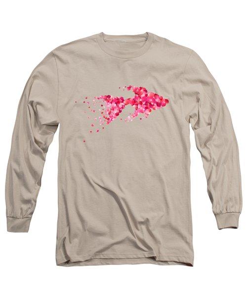 Fish Long Sleeve T-Shirt by Aloke Creative Store