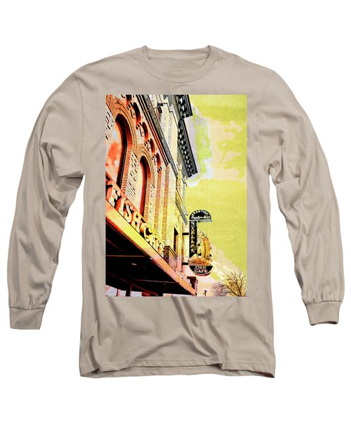 Fish Cafe Long Sleeve T-Shirt by Susan Stone