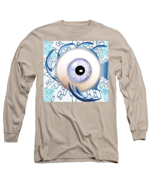 Fish Eye Long Sleeve T-Shirt by Belinda Threeths