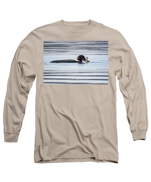 Fish For Lunch Long Sleeve T-Shirt by Bill Wakeley