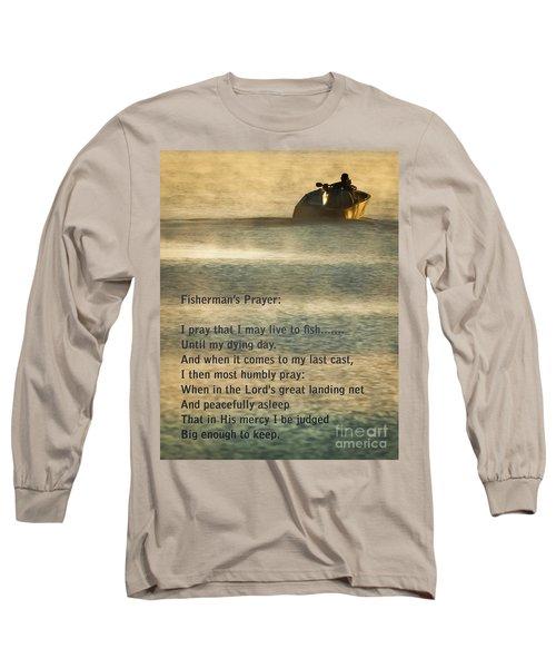 Fisherman's Prayer Long Sleeve T-Shirt