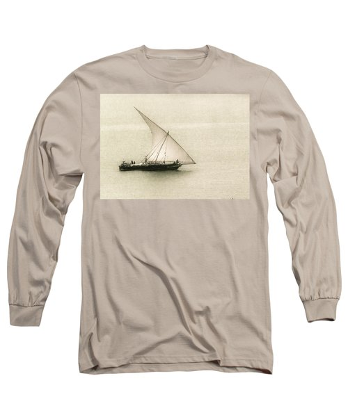 Fishing Dhow Long Sleeve T-Shirt by Patrick Kain