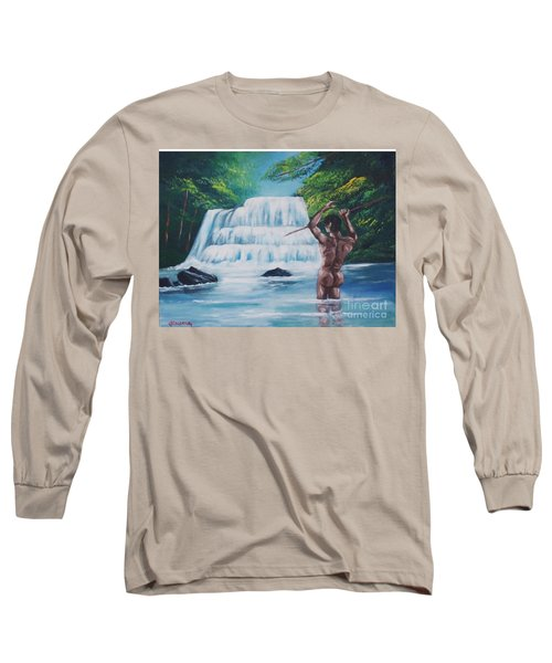Fishing In The River Long Sleeve T-Shirt