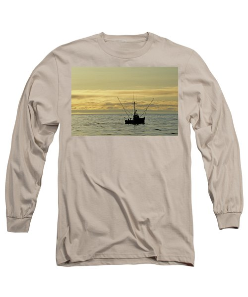 Fishing Off Santa Cruz Long Sleeve T-Shirt