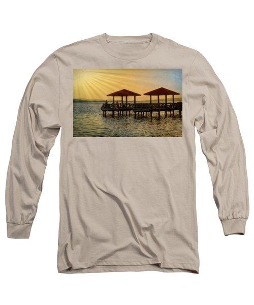 Fishing Pier Long Sleeve T-Shirt