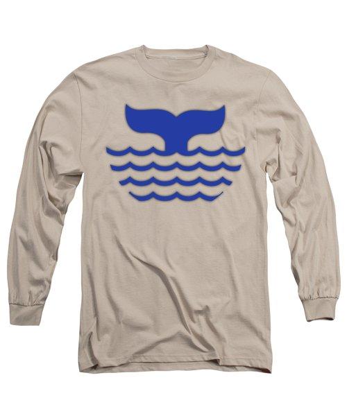 Fishtail In Blue Long Sleeve T-Shirt