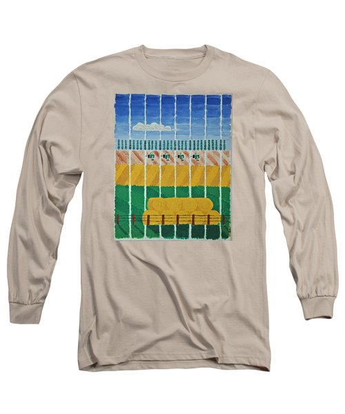 Five Tractors Long Sleeve T-Shirt