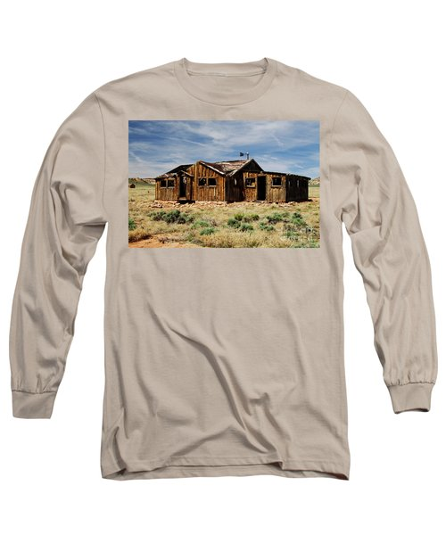 Fixer-upper Long Sleeve T-Shirt by Kathy McClure