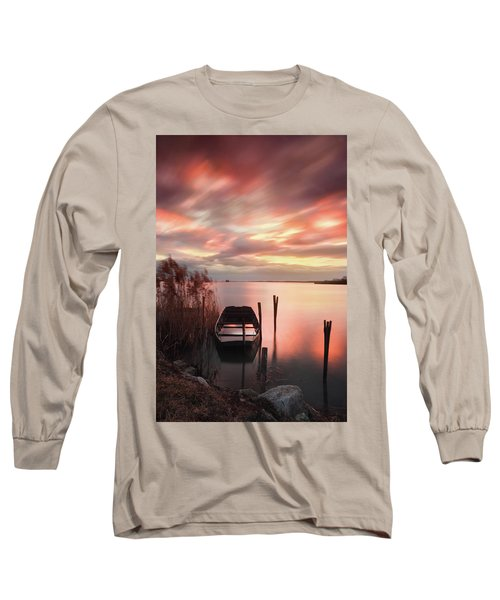 Flame In The Darkness Long Sleeve T-Shirt