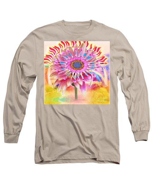 Flaming Sunrise Long Sleeve T-Shirt
