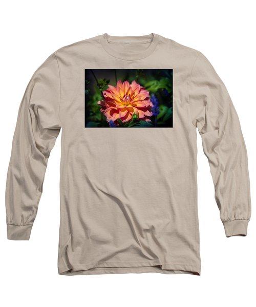 Flames Long Sleeve T-Shirt by Milena Ilieva
