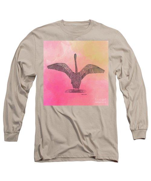 Flamingo2 Long Sleeve T-Shirt