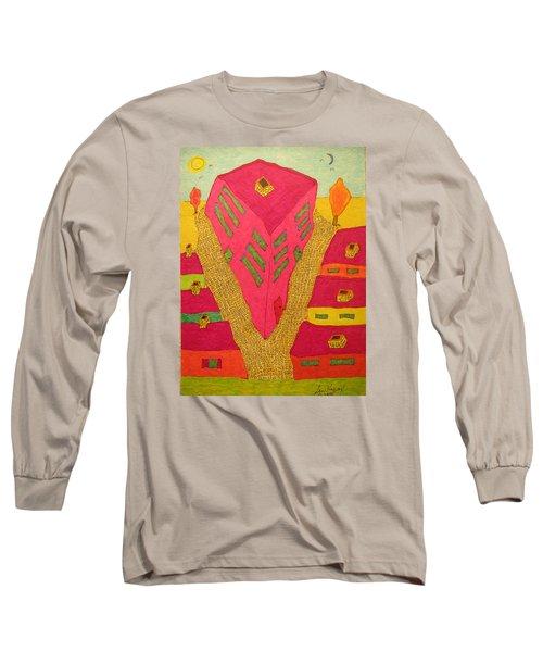 Flat Iron Bldg Long Sleeve T-Shirt