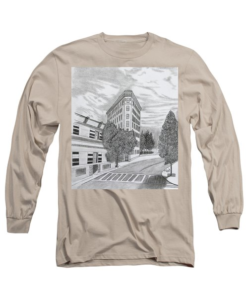 Flatiron In Asheville  Long Sleeve T-Shirt