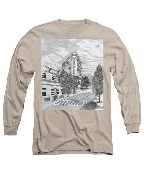 Flatiron In Asheville  Long Sleeve T-Shirt