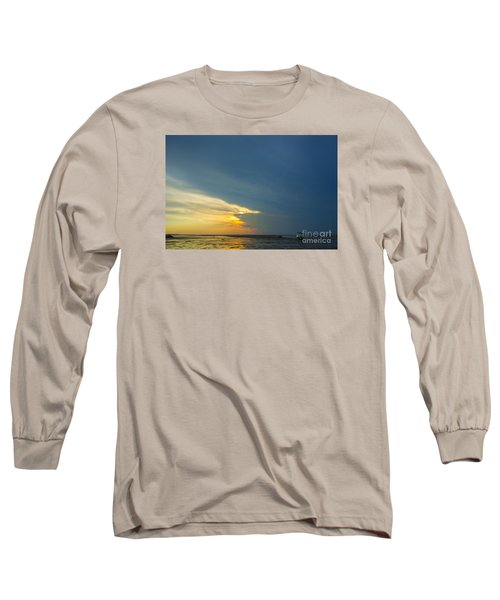Flats Of Brewster, Cape Cod Long Sleeve T-Shirt by Diane Diederich
