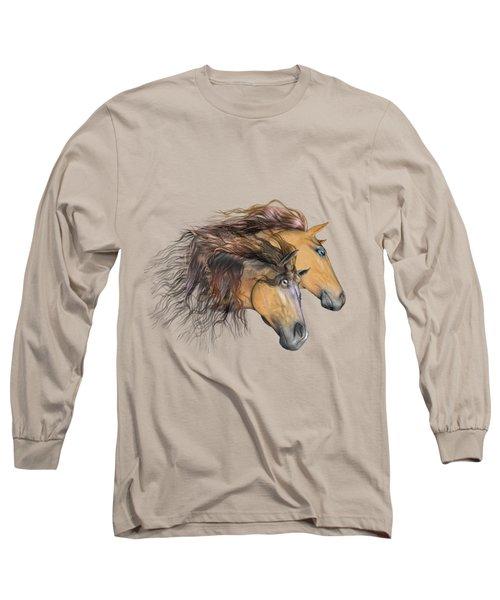 Flaxen Manes Long Sleeve T-Shirt