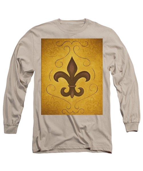 Fleur De Lis II Long Sleeve T-Shirt